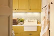 Laundry Room / Where great organization and beautiful design make one of life's daily chores actually fun!