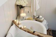 Bathrooms / Beautiful bathrooms.