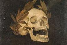 MEMENTO MORI -VANITAS / FUNERARY ART-FUNERARY SCULPTURE - DEATH ICHONOGRAPHY