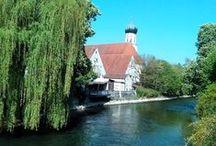 Meine Wahlheimat bis Oktober 2015 / Bilder in und um Fürstenfeldbruck.  Dort habe ich 16 Jahre gewohnt