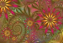 fractals gemaakt door angela / deze fractals heb ik allemaal zelf gemaakt