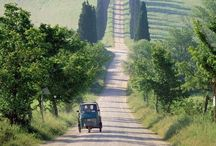 """Tuscan Dream / I dream of leaving my home country, moving to Tuscany. Living a """"slower"""" life, having olive trees and wine, planting flowers in the garden and care about lemon trees in big pottery. <3"""