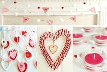 Valentines on a dime / Budget friendly ideas for beautiful Valentines Day decor and gifts