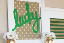 St. Patty's Day / Fun and cheap St. Patrick's Day ideas for decor and more..