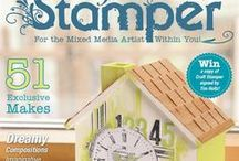 June 2016 Issue / sneak peeks and closeups from the June 2016 issue of Craft Stamper Magazine. To purchase, please visit www.craftstamper.com, or for a digital version www.pocketmags.com