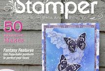 August 2016 Issue / A selection of close ups from the ptrojects in the August 2016 issue of Craft Stamper Magazine. www.craftstamper.com