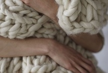 I love Knitting / Yarn.....knitted knotted crocheted...