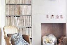 Lounge fireplace arrangements
