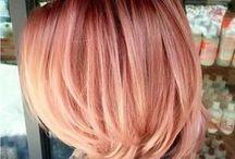 INSPIRATION Frisuren & Haarfarbe / Haare, Frisuren, Haarfarbe