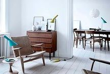Lounge - white floorboards