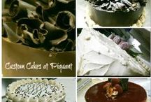 The Cakes of Piquant / Our custom order cakes are sure to please you and your guests.  Whether it's for a dinner party, birthday party, wedding, or other special occasion.