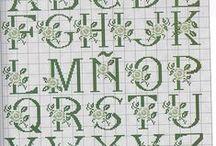 PONTO CRUZ / Graficos e monogramas