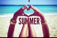 Love Summer! ❤️ / I wish all year could be summer! It's my favorite time of year since I live in PA! / by Tricia Brophy