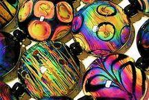 Glass beads - Lampwork - glaskralen