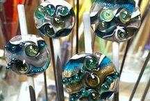Handmade lampwork by W&Beads© / Handmade lampwork, handgemaakte glaskralen, glass beads, glas perlen made by W&Beads©  Please feel free to visit my Facebook account: Wen Beads