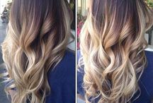 Ombré hairstyles / Collection of gorgeous ombré hairstyles that you can try out and experiment with