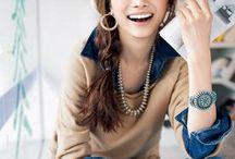 Japanese model style