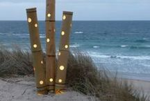 Bamboo Lighting / We have designed a great range of both internal and external lighting that is both practical and retro