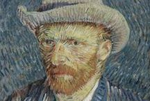 Vincent Willem Van Gogh /  Margolari postinpresionista ospetsua izan zen. Marrazkirako dohaina txiki-txikitandik erakutsi bazuen ere, ez zen hogeita zazpi urte bete arte hasi marrazten eta pintatzen, eta hamar urte besterik ez zituen egin artegintzan. Bizitza eta artegintza hain daude lotuak, non bizilekuz aldatu zen aldi bakoitzari aro berri bat baitagokio bere lanean. . Hala, pinturaren historiako artistarik handienetako bat izatera iritsi zen.