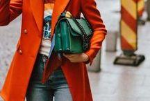 Trend Color: Orange / Absolute Trendfarbe dieses Jahr ist und bleibt Orange. Egal ob als kleiner Akzent oder in einem all-in-orange Look - orange geht immer und ist seit dieser Saison nicht mehr wegzudenken!