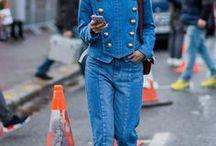 Trend: Denim all over / Die schönsten Jeans auf Jeans Looks.