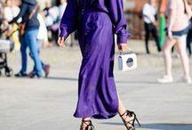 Trend Color: Ultra Violet / Die schönsten Streetstyles zur Pantone Farbe 2018: Ultra Violet!
