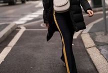 Trend: Track Pants / Die coolsten Street Styles mit dem aktuellen Trendteil: Trackpants.