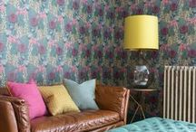 Installations & Inspirations / Shots of my wallpapers, fabrics and accessories