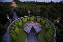 Outsiders / Outdoor living spaces, garden ideas and home exterior possibilities. / by Maria Perez-Bastian