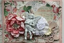 Cards and Tags 1 / Look under printables and templates for some of these cards. / by Lynette Larson Campbell