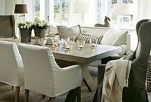 Dining Rooms / Get inspired by these beautiful dining rooms, featuring farmhouse and coastal styles.
