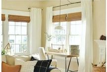 Drapes & Window Treatments / Drapes and window treatments are often overlooked, but they can play a big role in the overall feel of a space. Browse a selection of beautiful farmhouse inspired drapes, shades and curtains, including store bought and DIY.