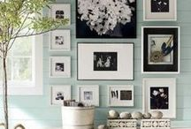 Gallery Walls / Be inspired while you browse through a selection of beautifully curated gallery walls while learning simple tips and techniques to create your own gallery wall.