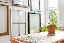 Old Windows / Vintage and antique windows have a gorgeous patina and can be used to add character and charm to a home. Browse these beautiful photos of age worn windows to find inspiration of your own.