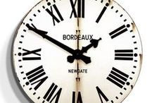 Clocks / From mini to extra large, clocks are a fun way to add character and charm to your home as an art piece.
