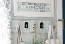 Signs / Add character to your home with a one-of-a-kind custom sign, browse this selection of rustic and modern signs for DIY inspiration.