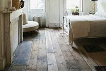 Floors / Get inspired with these beautiful flooring options, from  including weathered hardwood to colorful ceramic tiles.
