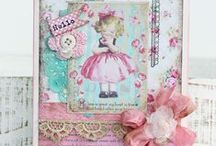 Melissa Philips of Lilybeanpaperie card designs / by Lynette Larson Campbell