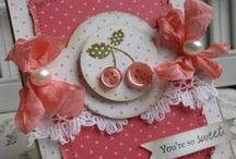 Cherries Jubilee Cards / by Lynette Larson Campbell
