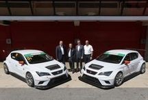 Customer teams receive and test the SEAT Leon Cup Racer / by SEAT Sport