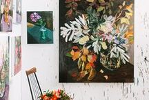 Large Abstract Paintings / Large scale art inspiration for paintings (mainly on canvas)
