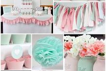 Chantelle Baby Shower - Mint & Pink