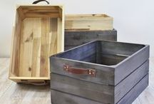 || Wood || / Classic lines with a modern twist make these wood storage solutions a sensible and stylish choice.