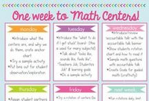Managing Math Games / Lots of FREE tips for how to manage math games in your classroom.