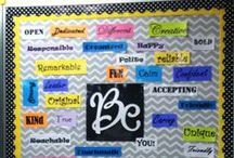 Bulletin Board Ideas (and Door Decorations) / Bulletin board ideas and inspiration, and ideas for door decorations for elementary classrooms