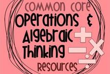 Common Core OA Resources / Resources for the Operations and Algebraic Thinking strand of the Common Core standards, grades K-5. These boards are no longer open to collaborators.
