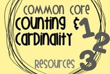 Common Core CC Resources / A resource board for the Common Core Counting and Cardinality strand in Kindergarten.  These boards are no longer open to collaborators.