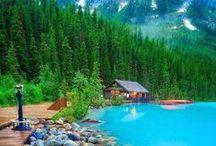 Voyage, vacances et activités / Quelques endroits paradisiaques que je rêve de visiter ou que j'ai visités.