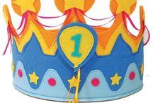 Verjaardagskroon / Leuke kroontjes om te maken voor een kinderverjaardag