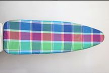 Ironing Board Covers / A wide range of Ironing Board Covers that have a wide range of functions, including heat reflection, felt or foam lamination, and elasticated piping to make it easy to snap on to any board